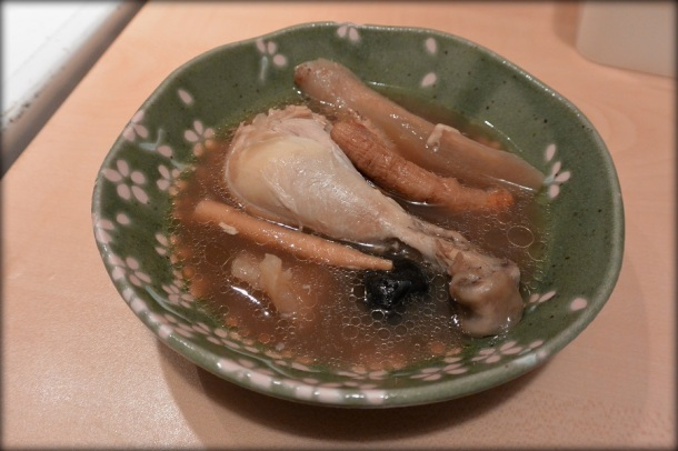 Chinese chicken ginseng soup